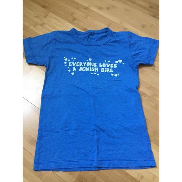 7d42d8ede19 Everyone Loves a Jewish Girl T-shirt